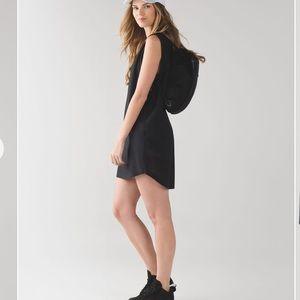 Lululemon After Waves Black Dress Size 2
